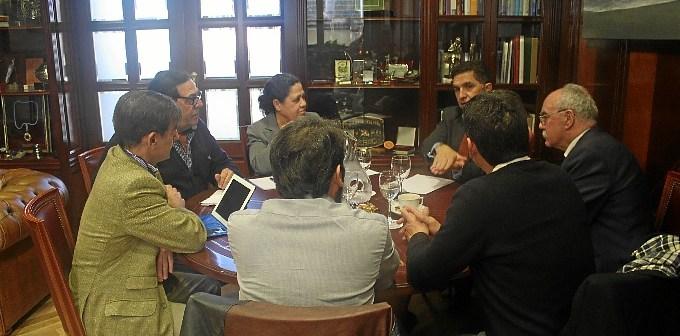 Secretario Gral Economia Junta Agrupacion Interes Infraestructuras  Huelva