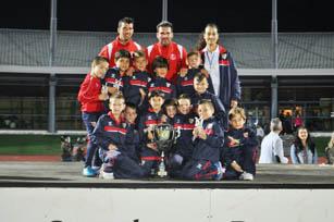 Sevilla, ganador del Mundialito 2015.