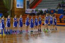 Equipo junior del Club Baloncesto Conquero.