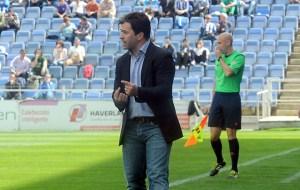 Jose Dominguez, técnico del Recreativo de Huelva. (Espínola)
