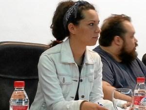Maria Caballero, candidata de IU al Ayuntamiento de Huelva