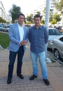 Ruperto Gallardo y Enrique Bueno