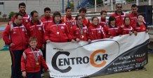 CODA en el Campeonato de Andalucía de atletismo.