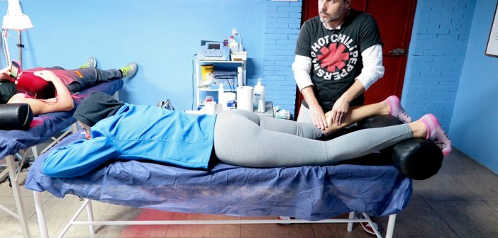 Servicios de fisioterapia del CB Conquero.