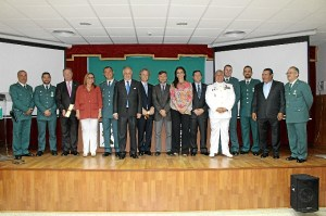 171 ANIVERSARIO GUARDIA CIVIL EN HUELVA-20150513 Autoridades y condecorados 171 aniversario Guardia Civil