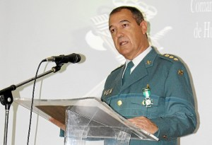 171 ANIVERSARIO GUARDIA CIVIL EN HUELVA- Coronel discurso 171 aniversario Guardia Civil