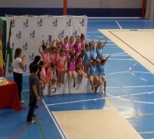 Escuela de gimnasia rítmica del Club Onuba.