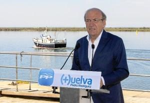 Pedro Rodríguez en uno de los actos de la reciente campaña electoral.