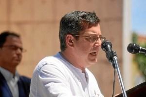 Sebastian Rivero, candidato IU a la Alcaldia de Aljaraque