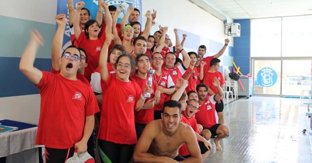 Club Onubense de Deportes Adaptado de natación.