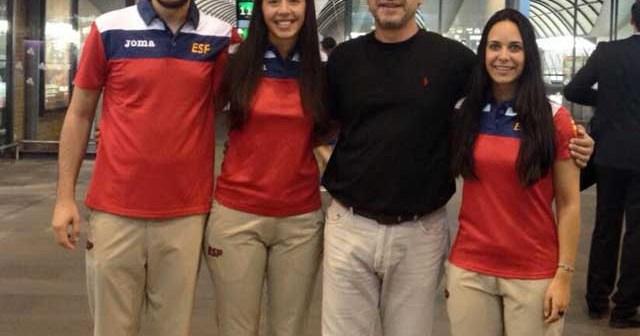 Carlos Londo, Laura y Antonio Molina y Haideé Ojeda.
