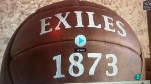 Exiles, posible primer club británico que jugara en España en 1873.