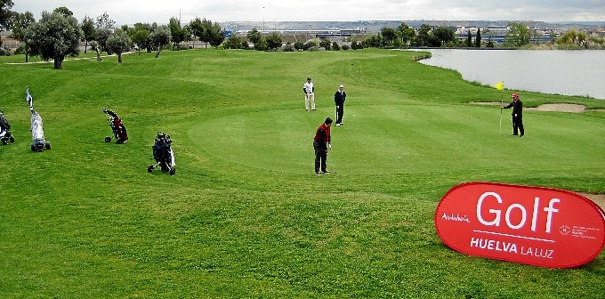 Foto green golf