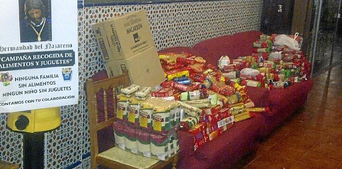 Hermandad Nazareno colecta