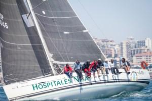Barco de crucero 'Hospitales Nisa-Al Kevir'.