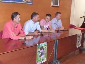 Presentación del I Campus Cifu de fútbol base en Moguer.