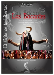 Cultura Teatro Las Bacantes Cartel