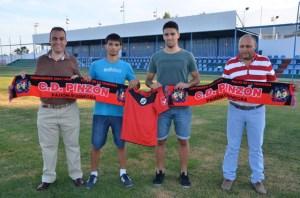 Cristian y Óscar Ramos, nuevos jugadores del CD Pinzón.