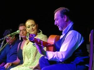 Moguer festival flamenco. manuela cordero