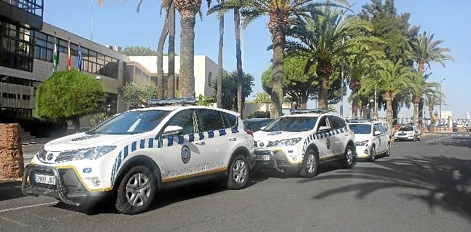 Nuevos coches policia portuaria Huelva I
