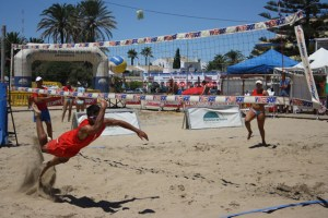Circuito de voley playa.