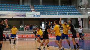 Fernando Sánchez jugando con el PAN Moguer.