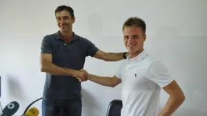 Ernesto Cornejo, nuevo jugador del Recreativo de Huelva.