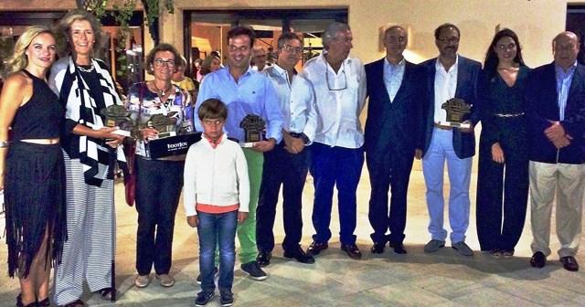 Ganadores XXIII Torneo Aniversario  de golf en Islantilla.