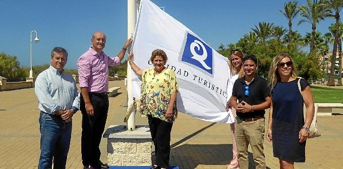 Los alcaldes de Lepe e Isla en un acto en Islantilla.