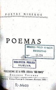Poemas mineros