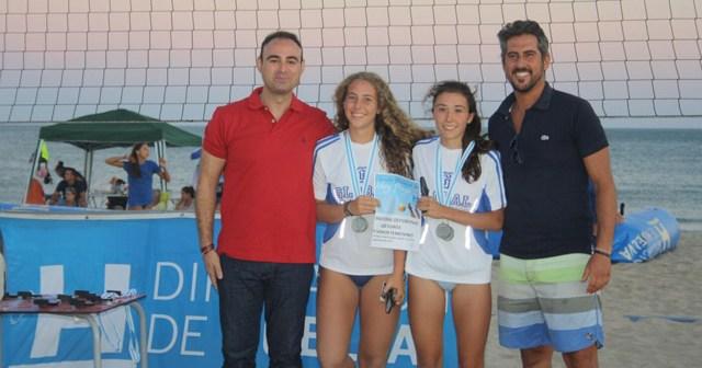 Ganadoras del Circuito Provincial de voley playa.