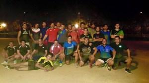 Plantilla del Huelva Unión Rugby.