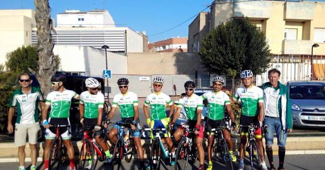 Equipo andaluz de ciclismo en carretera.