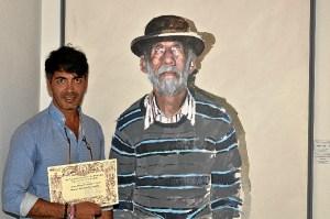 Juan Galan, primer accesit del 58 Salón de Pintura 'Ciudad de Ayamonte'