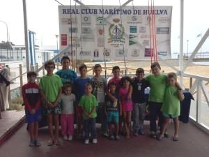 Jornadas de pesca en el Real Club Marítimo de Huelva.