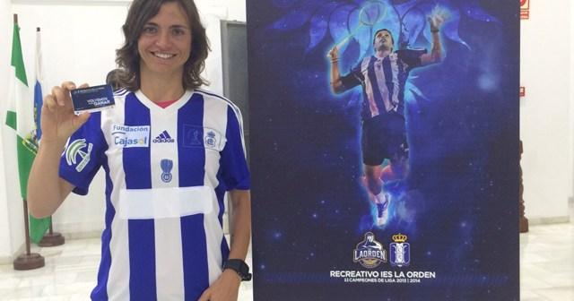 Telma Santos, nueva jugadora del Recreativo IES La Orden.