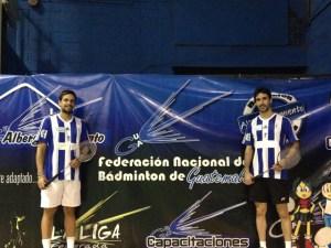 Pablo Abián y Eliezer Ojeda, jugadores del Recreativo IES La Orden.