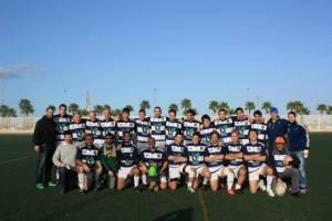 Plantilla del Bifesa Tartessos de rugby.