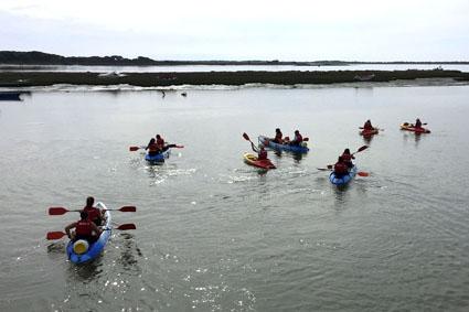 Descenso del río Piedras en kayak.