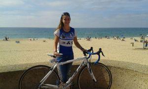 Ana Moriña, campeona andaluza de triatlón.