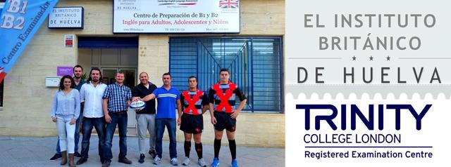 Huelva Unión Rugby con el Instituto Británico.