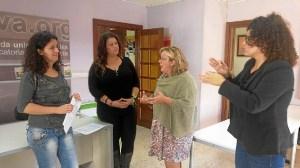Monica Rossi con Asociacion Personas Sordas Huelva