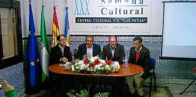 AROCHE CHARLA CON CUADRI Y DAVID DE MIRANDA
