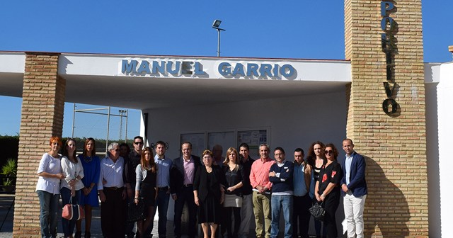 Polideportivo Municipal de Hinojos Manuel Garrio.