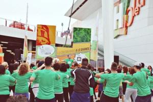 Aniversario de El Saladillo en el Holea.