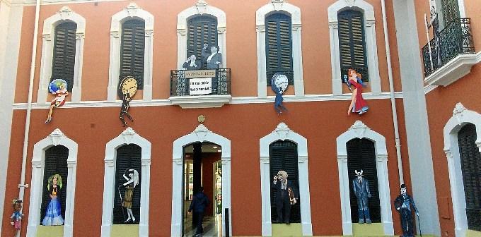 La Casa Colón se ha engalanado con motivos del séptimo arte para este nueva edición del festival.