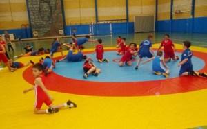 Escuela de Lucha Libre Olímpica El Campeón.