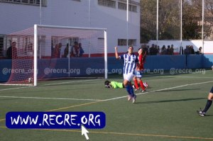 Gol de Martín Prieto ante el Collerense. (recre.org)