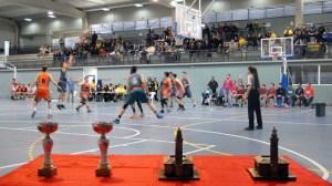Torneo de baloncesto en Mazagón.