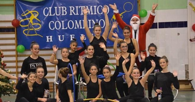 Gala de Navidad del Club Rítmico Colombino.